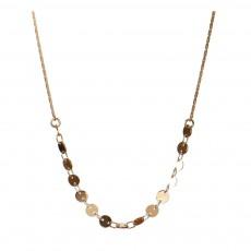 Titlee Collar Latón Dorado Oro fino Glenwood-listing