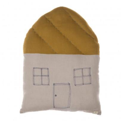 Camomile London Coussin maison à carreaux 42,5x56 cm-listing