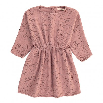 Bobo Choses Robe Taille Resserrée Oiseaux All Over-listing