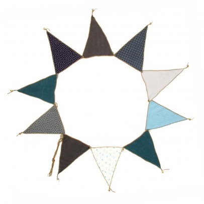 Numero 74 Garland - blue-product
