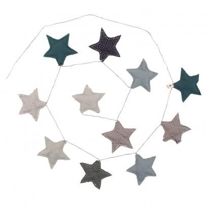 Numero 74 ghirlanda stelle - blu-listing
