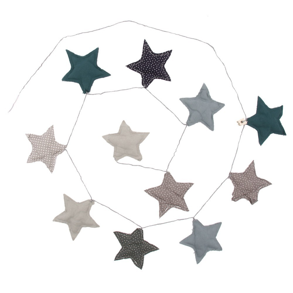 Numero 74 Stars garland - blue-product