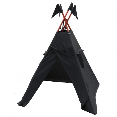 Numero 74 Tipi en coton - Anthracite-product
