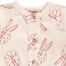 Bobo Choses Organic Cotton Bunny Romper-product