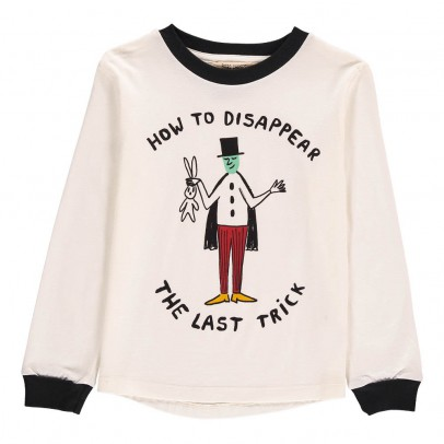 Bobo Choses Organic Cotton How to Disappear Long Sleeve T-Shirt-listing