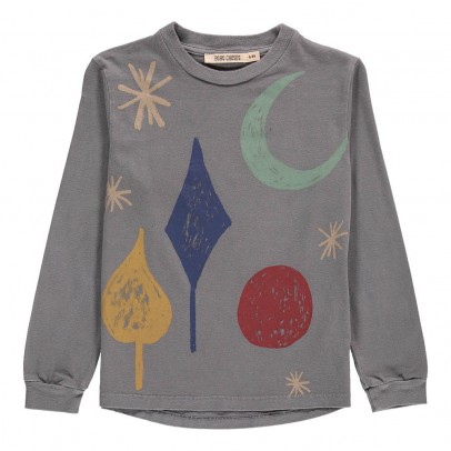 Bobo Choses T-Shirt ML Lune Coton Bio-listing