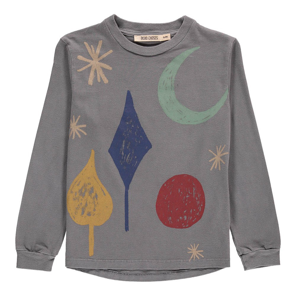 Organic Cotton Moon Long Sleeve T-Shirt-product