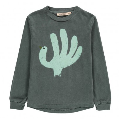 Bobo Choses Organic Cotton Bird Long Sleeve T-Shirt-listing