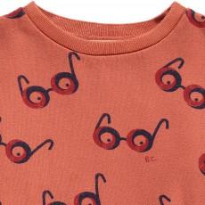 Bobo Choses Organic Cotton Glasses All Over Sweatshirt-listing