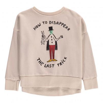 Bobo Choses Organic Cotton How to Disappear Sweatshirt-listing
