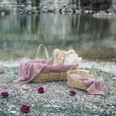 Numero 74 Capazo, colchón y manta - Rosa envejecido-listing