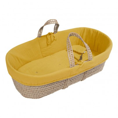 Numero 74 Bassinet, Mattress and Linen - Sunflower Yellow-listing