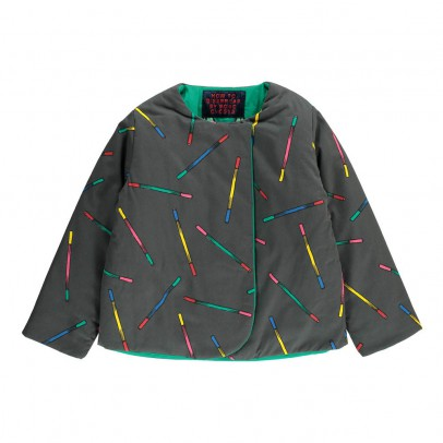 Bobo Choses Waterproof Reversible Multicolour Sticks Blazer-product