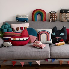 Oeuf NYC Peace Cushion-listing