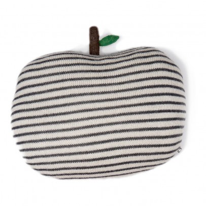 Oeuf NYC Coussin pomme rayé-listing