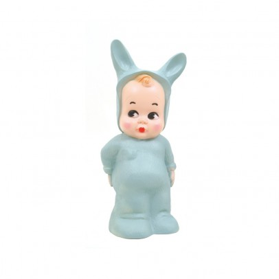 Lapin and Me Baby Rabbit Lamp Turquoise Blue-listing