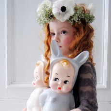 Lapin and Me Baby rabbit lamp-listing
