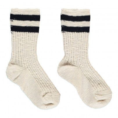 Les coyotes de Paris Striped Emily Socks-listing