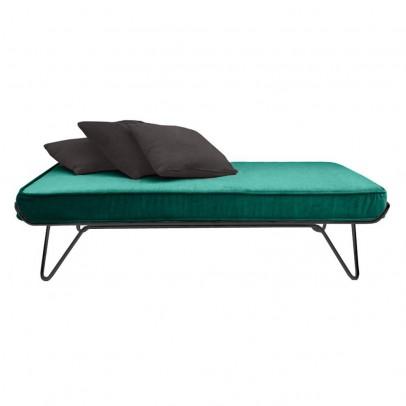 Honoré Black velvet bed-listing