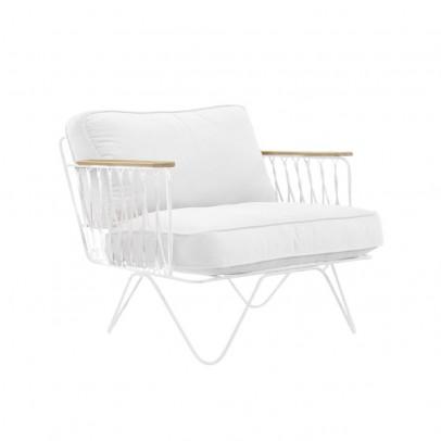 Honoré White cotton bench-listing