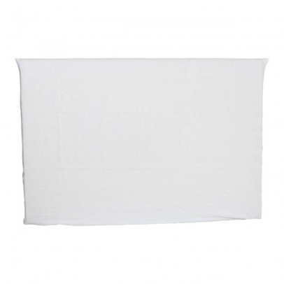 Smallable Home Washed linen headboard cover for double bed-listing