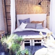 Smallable Home Fodera per Testata letto in Lino Lavato - Letto 2 Persone-listing