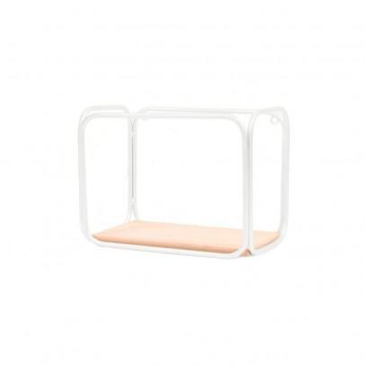 Honoré White and cedar tube shelf-listing