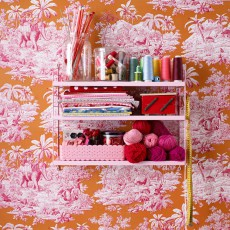 String Etagère Pocket - Rose-listing
