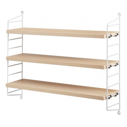String 'Pocket' shelf unit - birch-listing