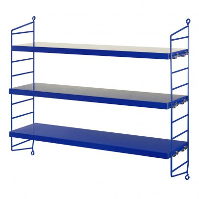 String Pocket shelf unit - blue-listing