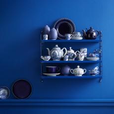 String Etagère Pocket - Bleu-listing
