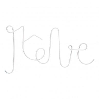 Zoé Rumeau Schriftzug Rêve aus bemaltem Metall-listing