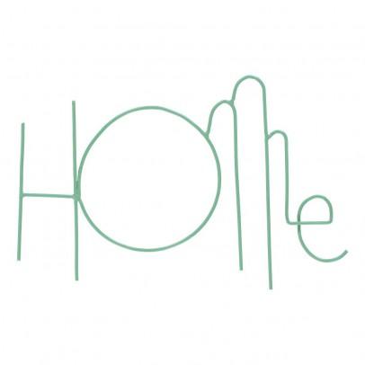 Zoé Rumeau Schriftzug Home aus bemaltem Metall-product