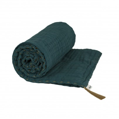 Numero 74 Light Blanket - Petrol Blue-listing