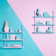 Rose in April Babou 66cm 3-shelf Shelves-listing