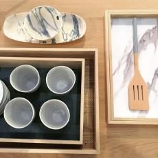 House Doctor Platte aus Steinzeug Marmor Effekt -listing