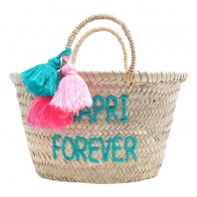 Rose in April Embroidered Capri forever Basket-listing