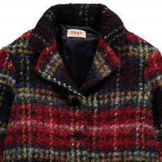 MAAN Checked Wool and Mohair True Coat-listing
