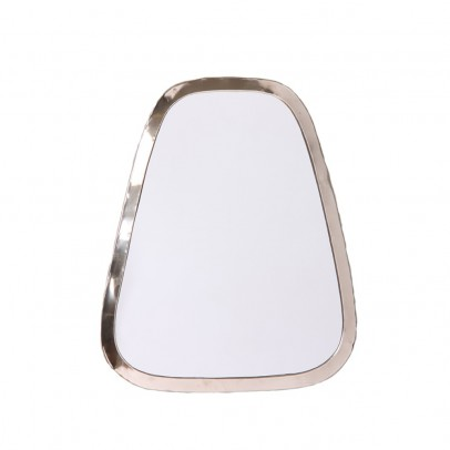 Smallable Home 40x30 cm Rectangular Nickel Silver Mirror-listing