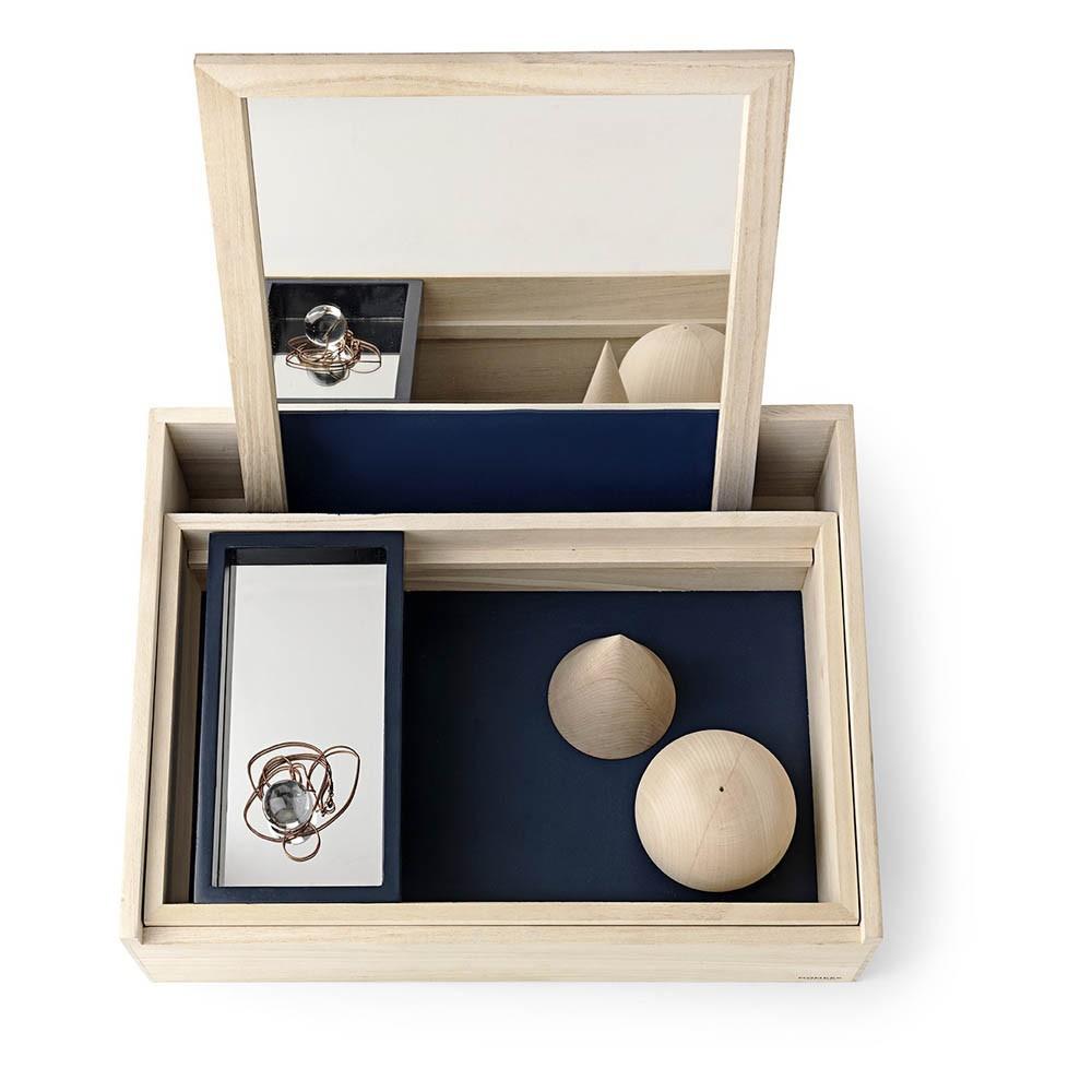 Nomess Copenhagen Boîte de rangement avec miroir Balsabox-product