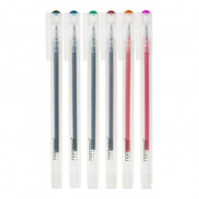 Nomess Copenhagen Bolígrafos tinta gel - Set de 6-listing