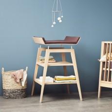 Leander Table à langer et matelas Linéa-listing