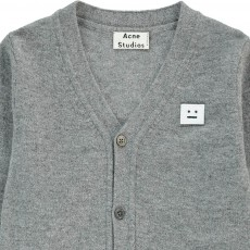 Acne Studios Strickjacke Patch Männchen Dasher-listing