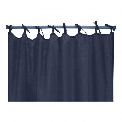 Lab Cortina en lino lavado con lazos-product
