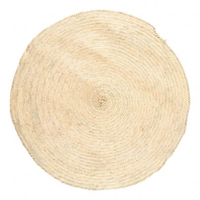 Smallable Home Woven Palm Leaf Rug D 100 cm-listing