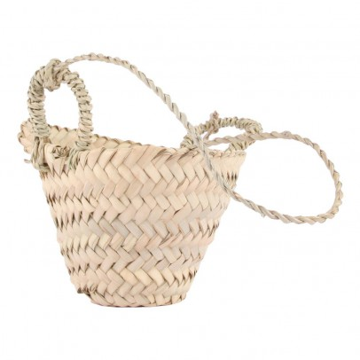Smallable Home Woven Palm Leaf Hanging Basket-listing