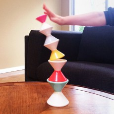 Kid O Stacking cones building set-product