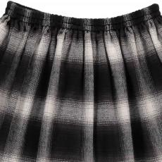 ANNE KURRIS Checked Pleated Trixy Skirt-listing