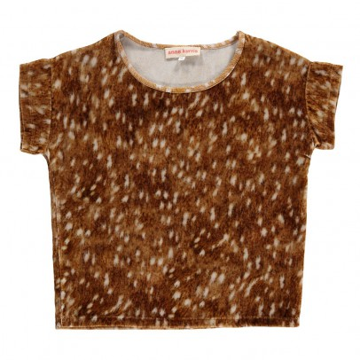 ANNE KURRIS T-Shirt Bambi Velours Topi-listing