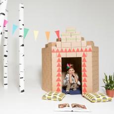 Gigi Bloks Gioco di costruzioni in cartone- Set da 100 blocchetti-listing